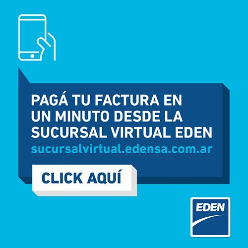 Sucursal virtual EDEN - Pagá tu factura online