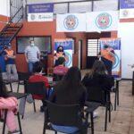 VOLVIERON LAS CLASES CON PRESENCIA EN LA ESCUELA DE DEFENSA CIVIL