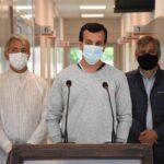 """PABLO FERNÁNDEZ: """"POCOS MÉDICOS QUERÍAN ATENDER A LOS PACIENTES"""""""